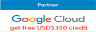 et $350 of GCP credit by signing up for a trial using this link.点击注册可获得免费USD$350 credit试用1年!